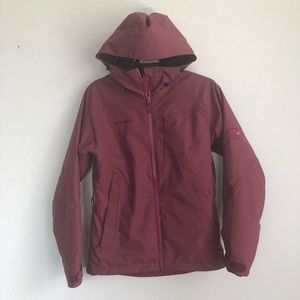 Mamma Dry Tech Front Zip Hooded Jacket